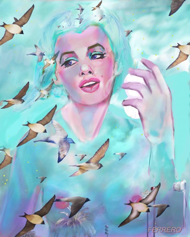 Marilyn Monroe par ferrokaro